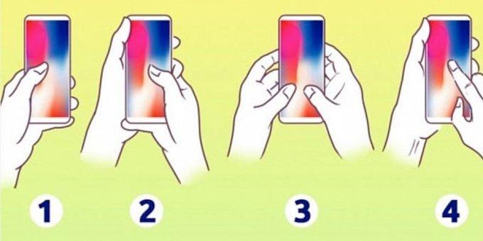 Jak držíte svůj mobil? Víte, že to o vás prozradí, jakou máte povahu?