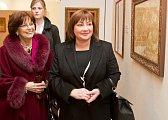 S manželkou slovenského prezidenta prezidenta Ivana Gašparoviče Silvií