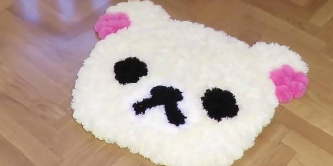 Vyrobte dětem měkoučký kobereček