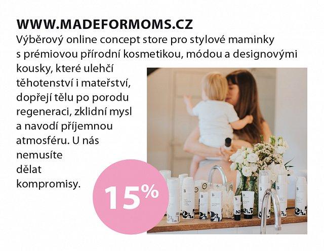Obrázek kupónu - Made for moms