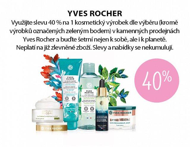 Obrázek kupónu - Yves Rocher kamenná prodejna
