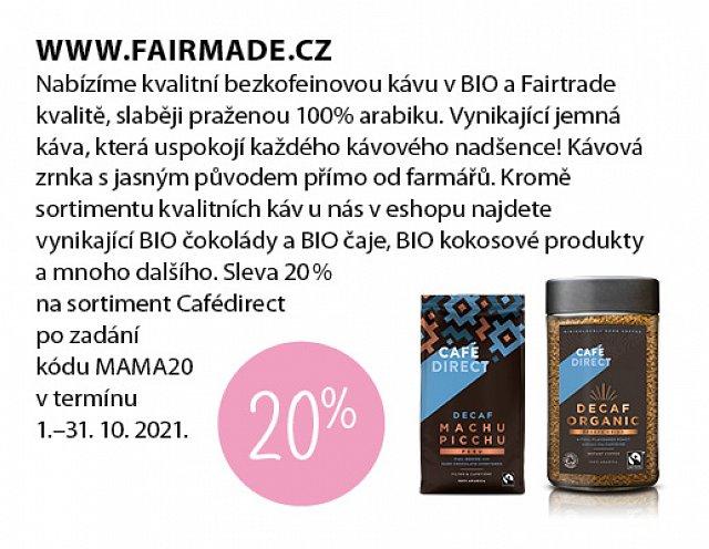 Obrázek kupónu - Fairmade