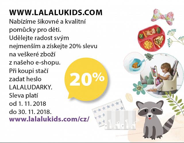Obrázek kupónu - WWW.LALALUKIDS.COM