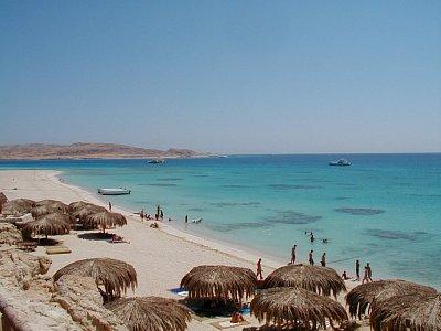 Al-Mahmya - pláž