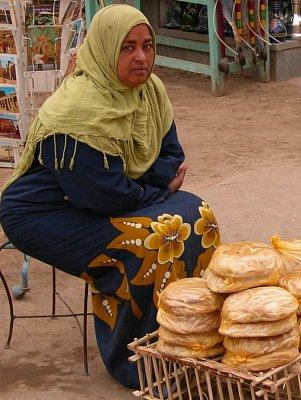 Žena na tržišti