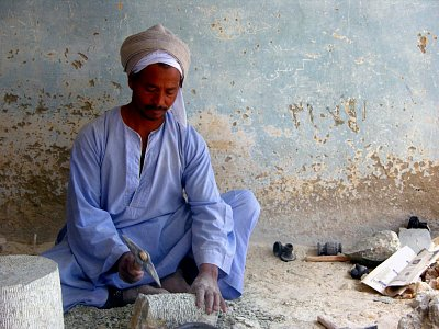 Pracující v Luxoru