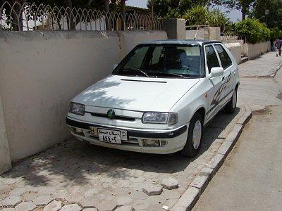 Škodovky jsou i v Egyptě - Škoda Felicia