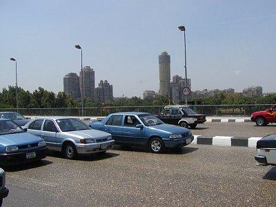 Doprava - Doprava v Káhiře není příliš organizovaná
