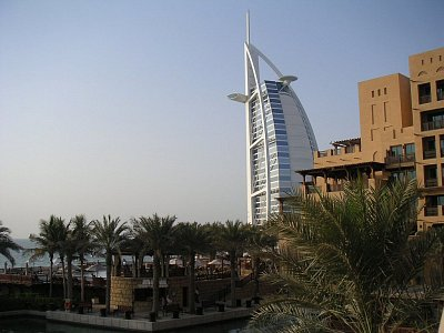 Luxusní hotel Burj Al Arab