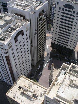 Město zeshora