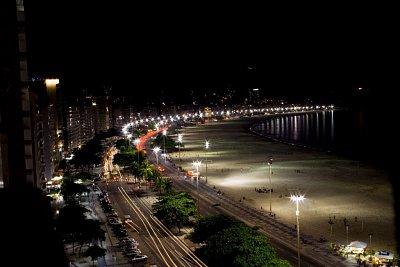 Copacabana v noci
