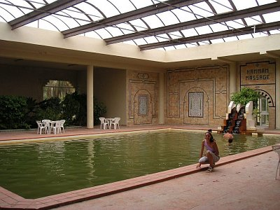 Sirné lázně v hotelu Le Sahara Douz