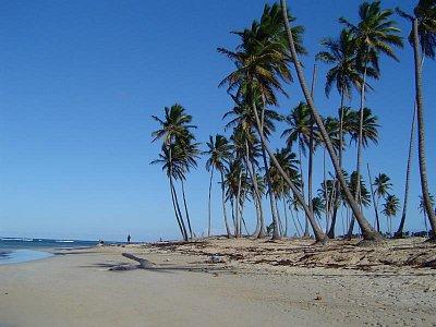 Azurové nebe - Většina dní je v Dominikánské republice bez jediného mráčku