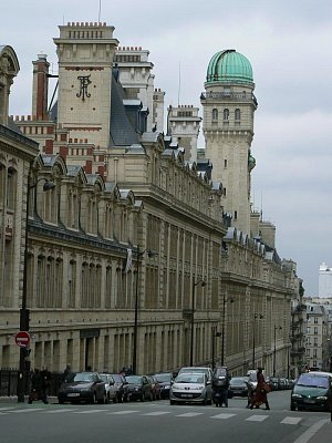 Ulice rue St Jacques, + Sorbonna