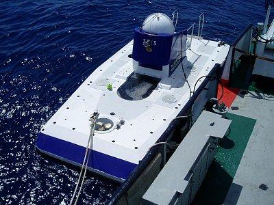 Ponorka Blue Safari