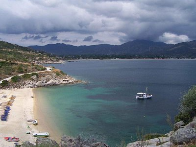 Chalkidiki Sithonia pláž u Sikie (nahrál: serfig)