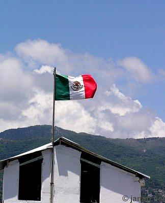 Mexická vlajka (nahrál: admin2)