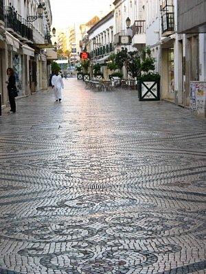 Ulice ve Faro
