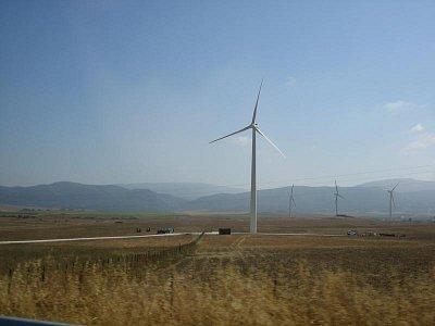 Tarifa - výroba větrné energie