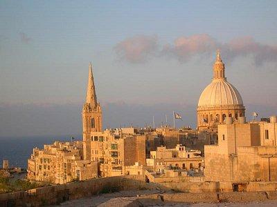 Hlavní město Valletta
