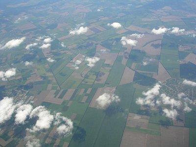 Pohled z letadla (nahrál: Mira)