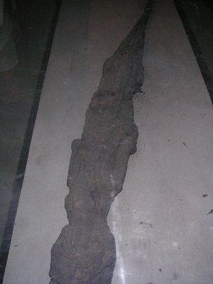 Mumifikovaný krokodýl v kapli zasvěcené Sobekovi (nahrál: admin)