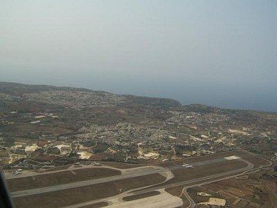 Letiště Luqa (nahrál: Radka Mihulova)