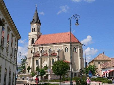 Kostel sv. Štěpána v Móru (nahrál: admin)