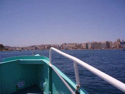 cesta z Valletty - z Valletty do Sliemy, fakt zajimavý výhled (nahrál: addonics)