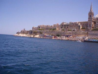 uprostřed zálivu cestou do Valletty (nahrál: addonics)