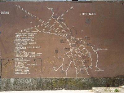 orientační mapka Cetinje (nahrál: admin)