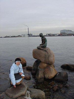 Symbol Kodaně-Malá mořská víla (nahrál: Helča2)