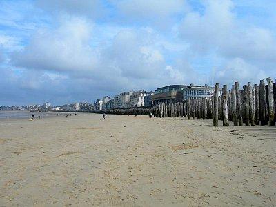 pláž v Saint Malo (nahrál: Ještěrka)