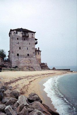Ouranopoli - poloostrov Athos (nahrál: Libor)