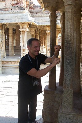 Hudební sloupy v chrámu Vittala (nahrál: admin)