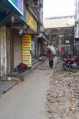 Mumbajská boční ulice (nahrál: admin)
