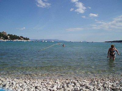 Istrie,Rabac  - nádherné pláže,