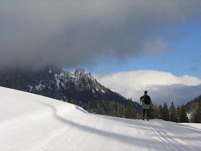 na horách se může počasí rychle změnit (nahrál: admin)