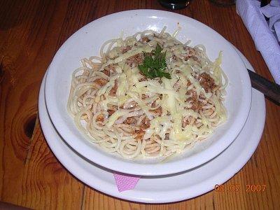 Špagety (nahrál: Mira)