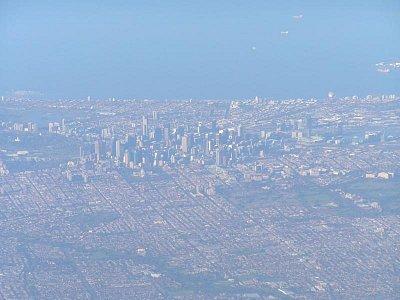 Letecký pohled na Melbourne (nahrál: admin)