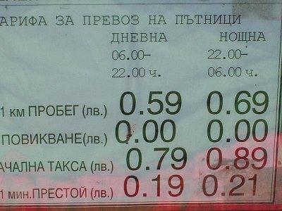 Černomorec - ceník taxi (nahrál: pome)