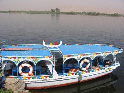 loďka na Nilu (nahrál: dagbul)