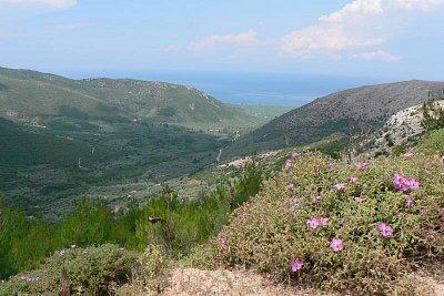 Thassos ve výšce 1050 m n. m (nahrál: Alena Melicharová)
