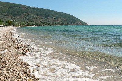 oblázková pláž (nahrál: Alena Melicharová)