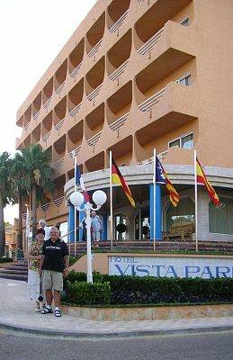 Hotel Vista Park - Hotel Vista Park v Can Pikafortu. (nahrál: Nervak)