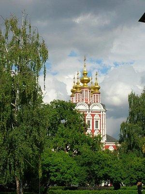 Novoděvičí klášter - pohled z druhé strany (nahrál: admin)