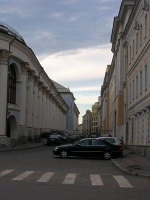 Kitaj Gorod - jedna z ulic (nahrál: admin)