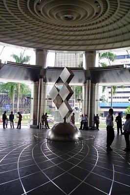 vnitřek Petronas Twin Towers (nahrál: admin)