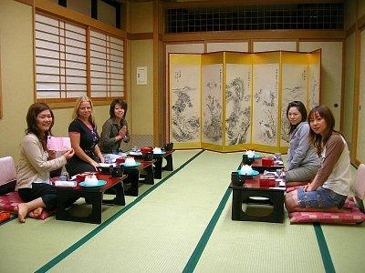 Ryokan v Nagánu - jídelní místnost (nahrál: admin)