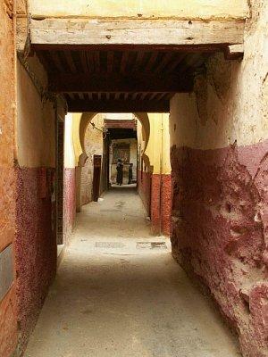 Meknés - uličky mediny (nahrál: Petr Kubík)